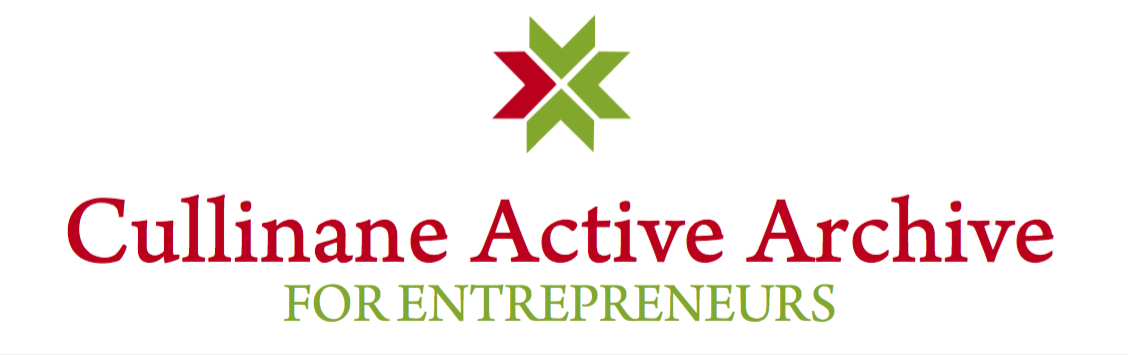 Cullinane Entrepreneurship Active Archive